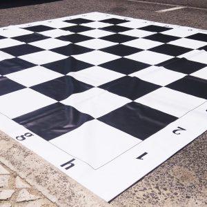 Tabuleiro Gigante de Xadrez